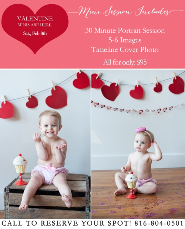 Valentine's Day Mini Sessions