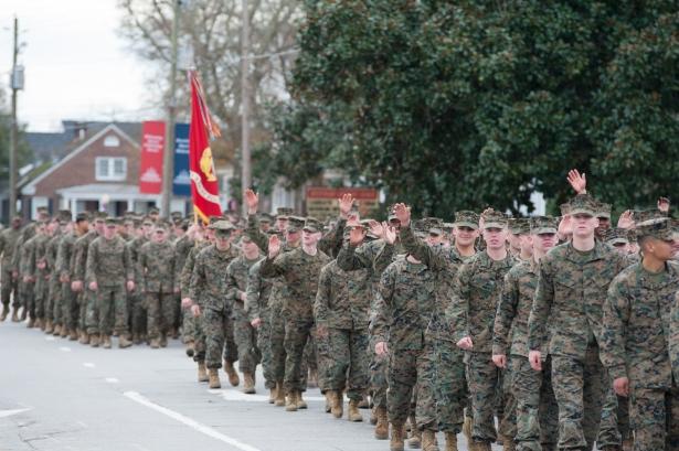 75th 2nd Marine Division Birthday-35