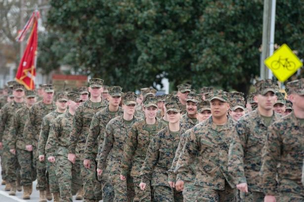 75th 2nd Marine Division Birthday-40